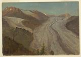 Great Aletasch Glacier, Switzerland