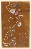 """Design for the Embroidery of the Top Part of a Man's Coat (Lapel), Pattern No 1437 of the """"Fabrique de St Ruf"""""""