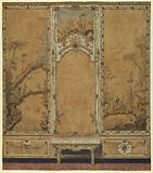 Wall Decoration for the Drawing Room of the Palace of Caserta