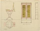 Design for Mechanical Furniture: Dressing Table and Bookcase