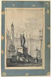 Architectural Fantasy with Fountain and Obelisk