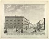 """View of Florence, Plate from """"Scelta di XXIV Vedute delle principali contrade, piazze, chiese, e palazzi della Città di Firenze"""""""