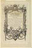 """Title Page of """"Histoire militaire de Flandre depuis l'Anée 1690, jusqu'en 1694 inclusivement"""""""