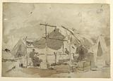 Army Cook's Tent