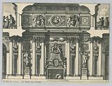 """Design for Mantle Piece, from """"Cheminées et Lambris"""""""