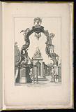 Cartouche and Fountain