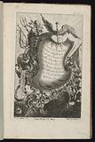 Cartouche with Mercury's Staff, Livre de Cartouches Irréguliers (Book of Irregular Cartouches)