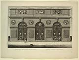 Engraving: Versailles, Grotto, Exterior