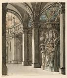 Stage Design, View into Apse