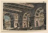 Stage Design, Palace Atrium
