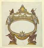Altar Tablet with the Arms of Pope Pius VII
