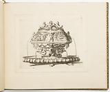 Fountain Design, from Dessins d'orfèvrerie (Designs for Metalwork)
