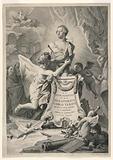 Dedication Page to Charles III of Spain and the Two Sicilies, frontispiece for Paolantonio Paoli, Rovine della città di Pesto detta ancora Posidonia