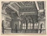 Stage Design, Gothic Room