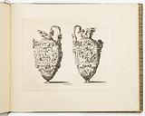Designs for Ewers, from Dessins d'orfèvrerie (Designs for Metalwork)