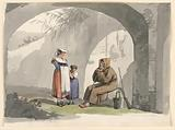 Two Girls from Frascati Visit a Hermit