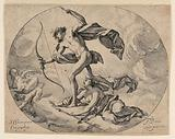 Apollo and Diana Chasing the Harpies