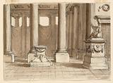 Stage Design, Interior of Temple
