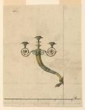 Design for a Candle Bracket