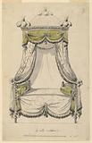 Design for a Bed in the Roman Style