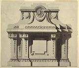 Elevation of a Wall Monument