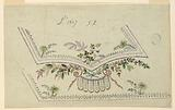 """Design for the Embroidery of a Man's Waistcoat of Pattern No 1857 of the """"Fabrique de St Ruf"""""""