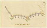 Design for Embroidered Waistcoat, pattern 1919 of Fabrique de St Ruf