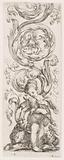 Plate, from the series Ornamenti o grottesche (Ornaments or Grotesques)