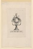 """Design for a Clock, from """"Six Tables Grecques Pendules"""""""