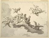 Design for a Painted Ceiling: Triumph of Meekness and Strength