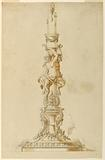 Elevation of a Candlestick