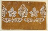 """Design for a Woven or Embroidered Horizontal Border of the """"Fabrique de St Ruf"""""""