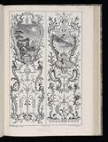 Two Upright Panels, Livre de Paneaux à divers usages (Book of Panels for Various Uses)