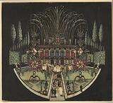 Palace with Fireworks