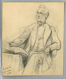 William E Dodge Seated