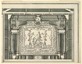 Transverse Section, Proscenium, and Curtain, Teatro Filarmonico, Verona