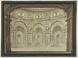 Stage Design: Oval Hall and Arcades