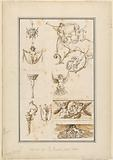 Designs for Ornamental Arabesque Motifs