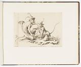 Le Maître de Cors de Chasse (The Master of the Hunting Horn), Singeries ou différentes actions de la vie humaine représentées par des singes (Monkey Antics or Different Actions of Human Life Represented by Monkeys)