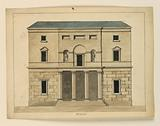 Elevation of a Theater, Venice