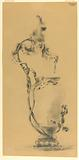 Design for a Bronze Mounted Vase