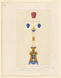 """""""Candelabre du Pavillon Orchestre place dans le bassin des Tuileries en 1834"""""""