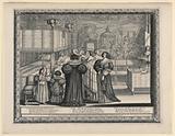 Le Retour du Baptesme (Return from the Baptism), from Le Mariage à la Ville (Marriage in the City)