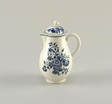 """Covered Creamer with """"Three Flowers"""" Pattern"""