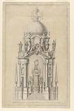 Elevation of a Royal Catafalque
