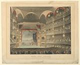 Interior of the Drury Land Theater, London