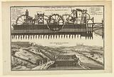 The Machine de Marly: Section and Aerial View