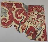 Fragment of a valance