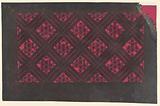 Hemp-leaf pattern and Lattice weave Motif