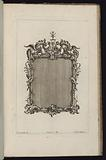 Frame with Rocaille Volutes and Wings, Premier Livre de Cadres (First Book of Frames)